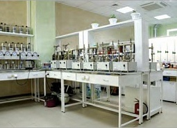 Production of laboratory furniture